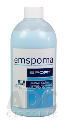 EMSPOMA Chladivá - modrá M masážna emulzia 1x500 ml
