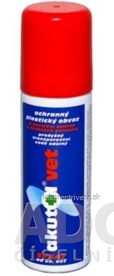 Akutol vet spray ad us. vet. ochranný plastický obväz, pre zvieratá, 1x60 ml