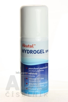 Akutol HYDROGEL spray 1x75 g