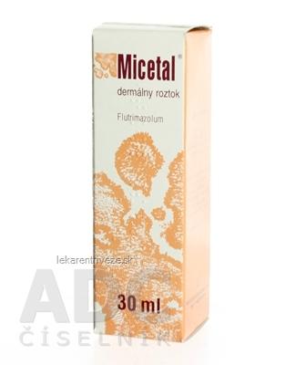 MICETAL  roztok sol der (skl. fľ.) 1x30 ml