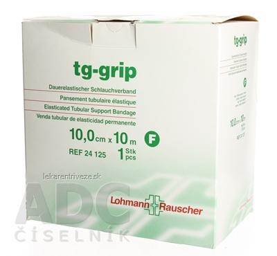 TG-GRIP F 10cm x10m výstužný tubulárny obväz na nohu, stehno (stredná) rolka 1x1 ks
