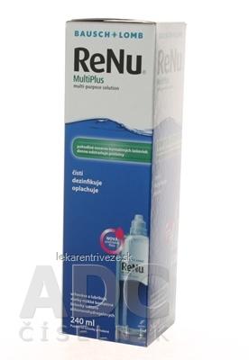 ReNu MultiPlus roztok na kontaktné šošovky (modrý) 1x240 ml