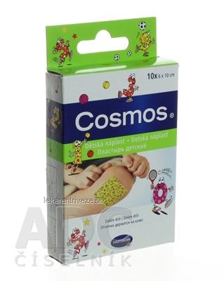 COSMOS Detská (KIDS) náplasť na rany, detská (6x10 cm) 1x10 ks