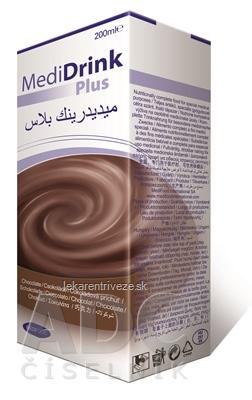 MediDrink Plus (verzia 2016) čokoládová príchuť 30x200 ml