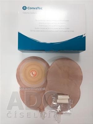 ESTEEM+ Flex Convex vrecko urostomické konvexné, jednodielne, nepriehľadné, s kontrolným okienkom, V3, 10-25 mm 1x10 ks