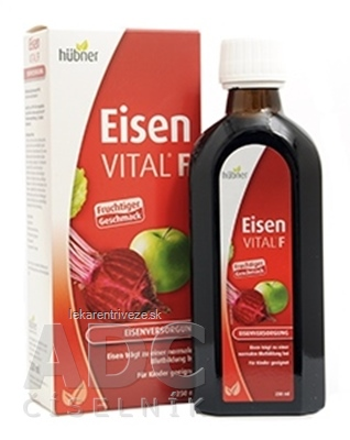 Eisen VITAL F ovocný a bylinný extrakt 1x250 ml