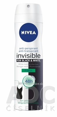 NIVEA ANTI-PERSPIRANT Black&White Fresh sprej 1x150 ml