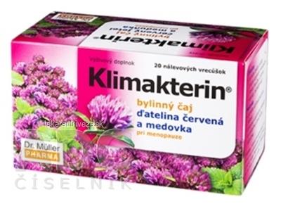 Dr. Müller Klimakterin bylinný čaj 20x1,5 g (30 g)