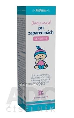 MedPharma Baby Masť pri zapareninách SENSITIVE 1x100 g
