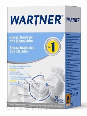 WARTNER prípravok na odstraňovanie bradavíc (kryoterapia) 1x50 ml