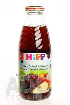 HiPP Šťava z červených plodov (od ukonč. 4. mesiaca) 1x500 ml