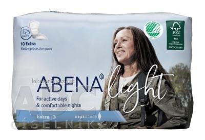 ABENA Light Extra 3 absorpčné vložky, priedušné, savosť 500 ml, 1x10 ks