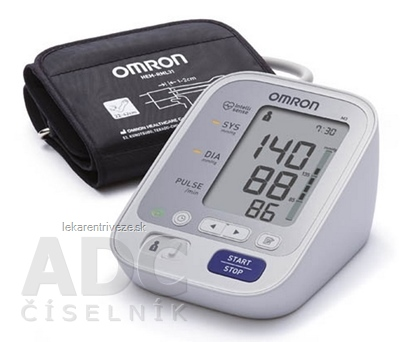 OMRON M3 Digitálny TLAKOMER automatický na rameno s predĺženou manžetou 1x1 ks
