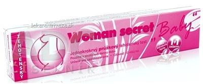 Woman secret BABY tehotenský test prúžkový (1+1 zadarmo) 1x2 ks