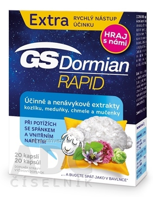 GS Dormian Rapid cps (súťažná edícia 2019) 1x20 ks