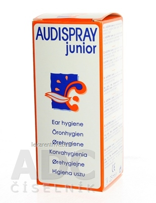 AUDISPRAY JUNIOR SPREJ NA UŠNÚ HYGIENU 1x25 ml