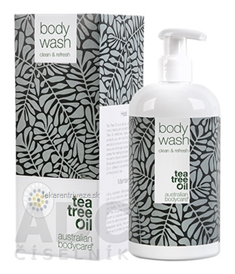 ABC tea tree oil BODY WASH - Tekuté mydlo antibakteriálne 1x500 ml
