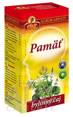 AGROKARPATY PAMÄŤ povzbudzujúci bylinný čaj 20x2 g (40 g)