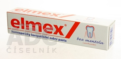ELMEX BEZMENTOLOVÁ ZUBNÁ PASTA 1x75 ml