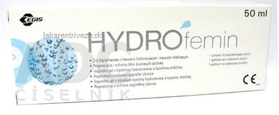 HYDROfemin vaginálny gél 1x50 ml