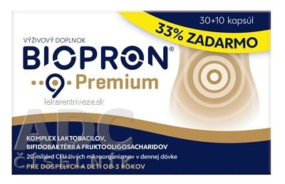 BIOPRON 9 Premium cps 30+10 (33% zadarmo) (40 ks)