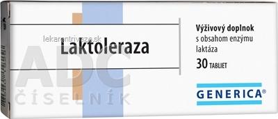 GENERICA Laktoleraza tbl 1x30 ks