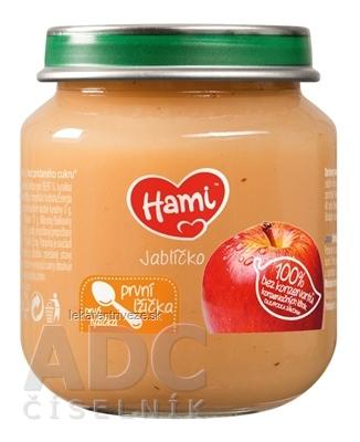 Hami ovocný príkrm Jabĺčko prvá lyžička (od ukonč. 4. mesiaca) 1x125 g