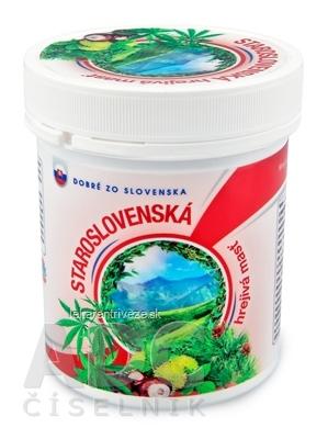 Dobré z SK STAROSLOVENSKÁ hrejivá masť masážny prípravok 1x250 ml