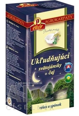 AGROKARPATY Ukľudňujúci svätojánsky čaj bylinný 20x2 g (40 g)