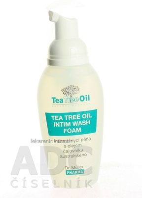 Dr. Müller Tea Tree Oil INTÍMNA UMÝVACIA PENA 1x100 ml