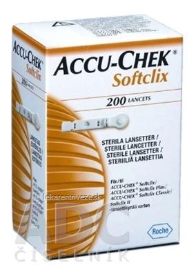 ACCU-CHEK Softclix Lancet 200 lancety do odberového pera 1x200 ks