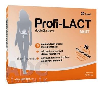 Profi-LACT Akut cps 1x20 ks
