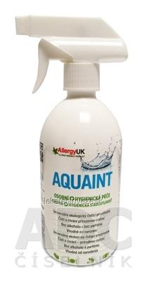 AQUAINT Osobná + Hygienická starostlivosť univerzálny čistiaci prostriedok, rozprašovač 1x500 ml