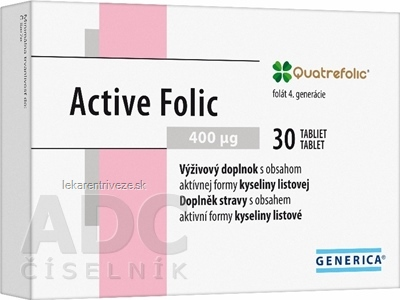 GENERICA Active Folic tbl 1x30 ks