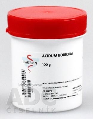 Acidum boricum - FAGRON v dóze 1x100 g
