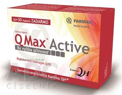 FARMAX Q Max Active cps 30+30 zadarmo (60 ks)