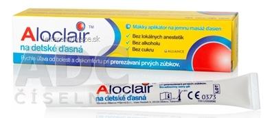 Aloclair na detské ďasná ústny gél pri prerezávajúcich sa zúbkoch 1x10 ml