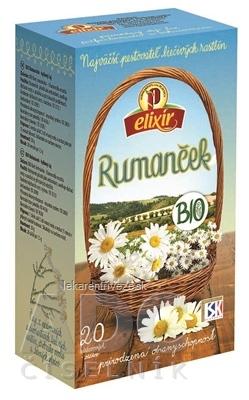 AGROKARPATY BIO Rumanček bylinný čaj, prírodný produkt, 20x1,5 g (30 g)