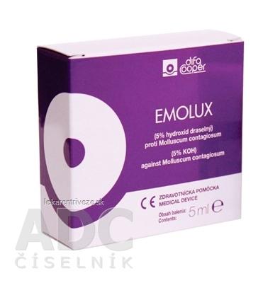 EMOLUX roztok (molluscum contagiosum) 1x5 ml