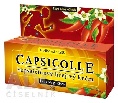 CAPSICOLLE kapsaicínový krém extra hrejivý 1x50 g