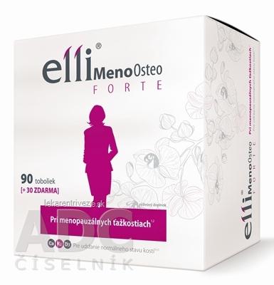 Elli MenoOsteo FORTE cps 90+30 zadarmo (120 ks)