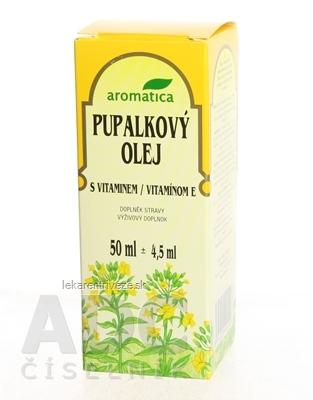 aromatica PUPALKOVÝ OLEJ S VITAMÍNOM E 1x50 ml