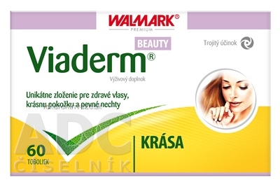 WALMARK VIADERM Beauty cps 1x60 ks