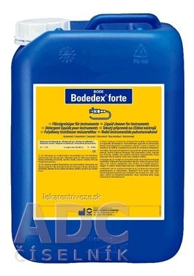BODE Bodedex Forte prípravok na čistenie nástrojov 1x5 l