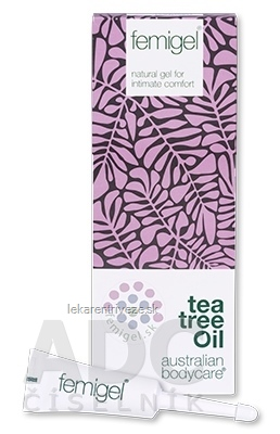 ABC tea tree oil FEMIGEL - Prírodný intímny gél 5x5 ml