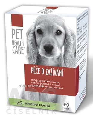 PET HEALTH CARE Starostlivosť o trávenie tbl 1x90 ks