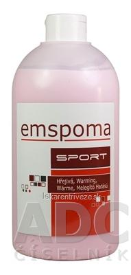 EMSPOMA Hrejivá - ružová O masážna emulzia 1x1000 ml