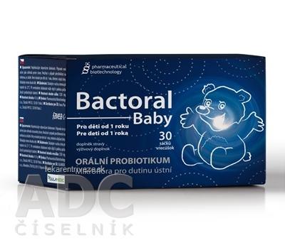 BACTORAL BABY (Pharmaceutical Biotechnology) prášok vo vrecúškach 1x30 ks
