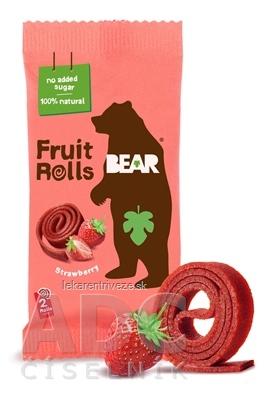BEAR Jahodové rolky (Fruit rools/yoyo Strawberry) ovocné rolky 1x20 g