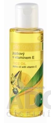 TOPVET pleťový olej JOJOBOVÝ s vitamínom E, 1x100 ml